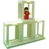 LEGO Showcase Figure Hall [SY306] - White - Building Set Occupation